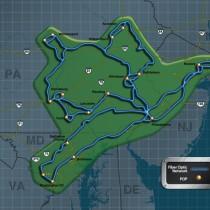 Map NE